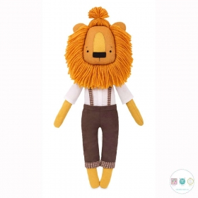 Kristof The Lion Sewing Kit - Animal D.I.Y Kit from MiaDolla - Make Your Own Toy - Gift