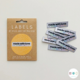 Made with Love & Swear Words Labels - by Kylie and the Machine - for all Handmade Items - Dressmaking & Knitting