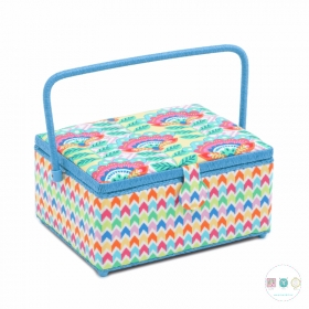 Large Margarita Sewing Box - Square - Sewing Storage & Accessories