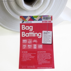 Bag Batting Matildas Own - Non-fusible Low Loft Bag Wadding