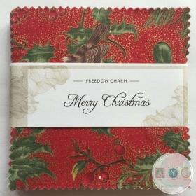 Merry Christmas - Freedom Charm Pack - 42 x 5