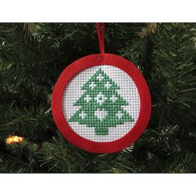Mini Christmas Tree Cross Stitch Kit