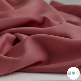 Rouge Tencel Twill Medium 4079 - Pink Tencel - by Jessica Jones - Dressmaking Fabric