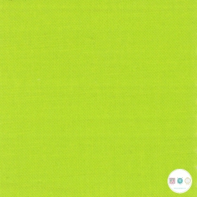 Acid Green - Plain Cotton - by Bella Solids for Moda Fabrics - Patchwork & Quilting