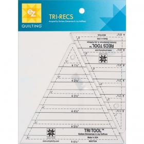 EZ Quilting Tri Recs Triangle Rulers for Patchwork and Quilting