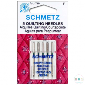 Schmetz - 90/14 Quilting Sewing Machine Needles - 5 pack - Uncarded