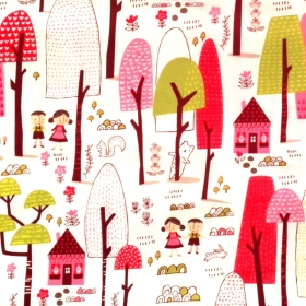 Hansel & Gretel - Just Another Walk In The Woods - Fabric Collection by Stacy Iest Hsu - Moda Fabric - Patchwork & Quilting