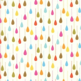 Wing & Leaf Raindrops by Gina Martin for Moda Fabrics - Patchwork & Quilting