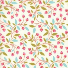 Wing & Leaf - Berry Vine by Gina Martin for Moda Fabrics - Patchwork & Quilting