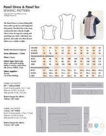 Panel Dress Sewing Pattern - Ladies Multisize Paper Pattern - by Sew Different - Dressmaking