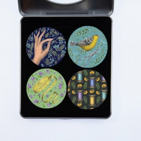 Gift Idea - Pattern Weights designed by Catherine Rowe featuring a pretty Sewing Theme