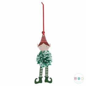 Pom Pom Decoration Kit - Xmas Elf - Pack of 4 - Kits and Gifts