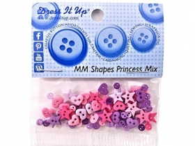 Dress It Up - Micro Mini Shapes - Princess Mix