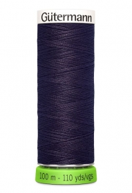 Gutermann Sew All Thread - Dark Purple Recycled Polyester rPET Colour 512