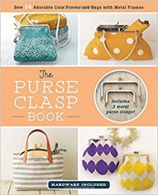 The Purse Clasp Book with 2 free metal clasps! by Boutique-Sha