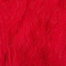 Red - 50g Felt Wool for Wet and Dry Needle Felting