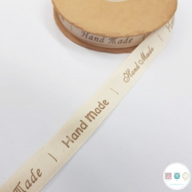 15mm Handmade - Labels - Cotton Tape - Ribbon - Trim - Haberdashery
