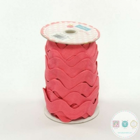 Riley Blake Rouge Red Jumbo Ric Rac - Trim for Fabric Projects - Polyester Embellishment - Haberdashery