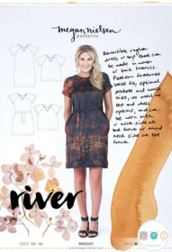Megan Nielsen - River Dress & Top - Size XS - XL - Ladies Paper Sewing Pattern - Dressmaking