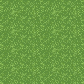 David Textiles - Russian Spirals Jolly Green - Cotton - Patchwork & Quilting Fabric