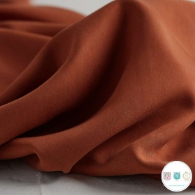Rust Tencel Twill Medium 4059 by Jessica Jones - Dressmaking Fabric