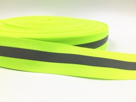 Reflective Ribbon Tape - 25mm - Trim - Haberdashery