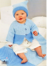 Stylecraft Wondersoft Baby Double Knitting Pattern 9270
