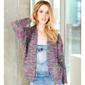 Batik Elements Dk Wool Cardigan & Sweater Pattern - sc9404