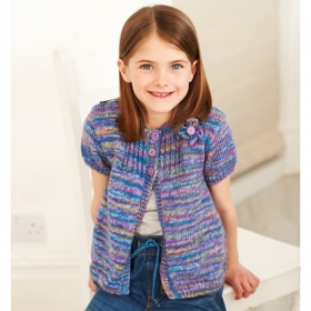 Batik Elements Dk Wool Childrens Sweater Pattern by Stylecraft - sc9410