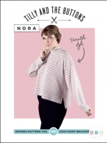 Tilly and The Buttons -  Nora Top - Sizes UK 6 - 20 - Ladies Sewing Pattern