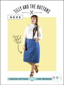 Tilly and The Buttons - Ness Skirt  - Sizes UK 6 - 20 - Improvers - Ladies Sewing Pattern