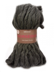 Gorgeous by Sirdar -  Shadow Grey Cotton Yarn - Super Chunky Wool
