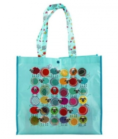 Blue Sheep Eco Shopping Tote Bag