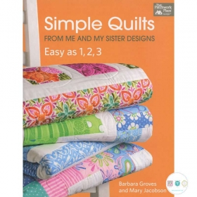 Simple Quilts from Me and My Sister Designs: Easy as 1, 2, 3 - That Patchwork Place - Quilting Book