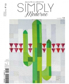 Simply Moderne #13 - Quilt Magazine from Quiltmania Inc - Books and Patterns
