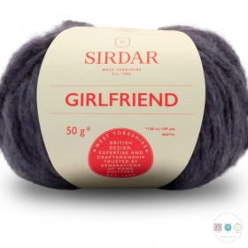 Sirdar Girlfriend 254 Denim - Chunky Wool - Felted Yarn - Knitting & Crochet