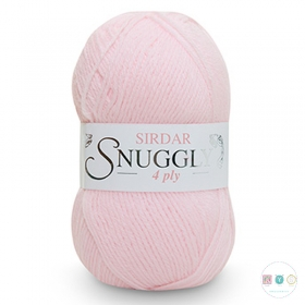 Sirdar Snuggly 4 Ply Wool - Pearly Pink (302) - Baby Pink - 50g - Yarn - Knitting & Crochet