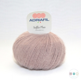 Adriafil Italian Yarn - Soffio Plus 62 - Ice Coffee Beige - DK - 50g - Wool Blend