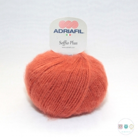 Adriafil Italian Yarn - Soffio Plus 64 - Rust Orange - 50g - Wool Blend