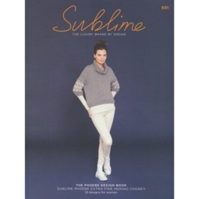 Sublime Phoebe Knitting Pattern Book 691 - Ladies Designs - by Sirdar