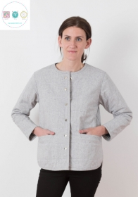 Tamarack Jacket - Ladies Sewing Pattern - by Grainline Studio