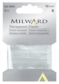 Milward 10mm Transparent Elastic