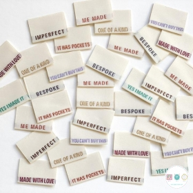 Gift Idea - Kylie and the Machine Woven Labels - Mixed Multi Pack