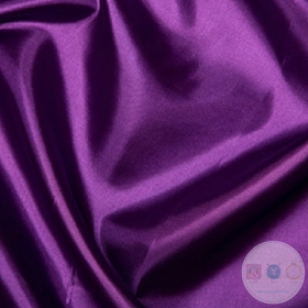 Anti Static Polyester Dress Lining Fabric in Violet Purple - Dressmaking Lining