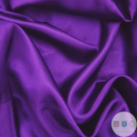 Anti Static Polyester Dress Lining Fabric in Violet Purple 2 - Dressmaking Lining