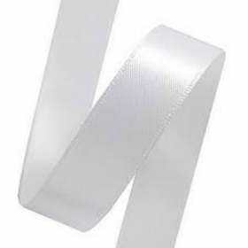 White Ribbon - 16mm - Price per yard.