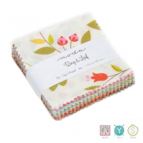 Wing & Leaf - Moda Mini Charm Pack by Gina Martin - Patchwork & Quilting