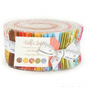 Wing And Leaf Jelly Roll by Gina Martin for Moda Fabrics