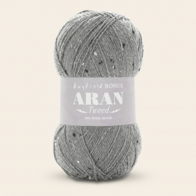 Yarn Hayfield Bonus Aran Tweed by Sirdar Cove 684