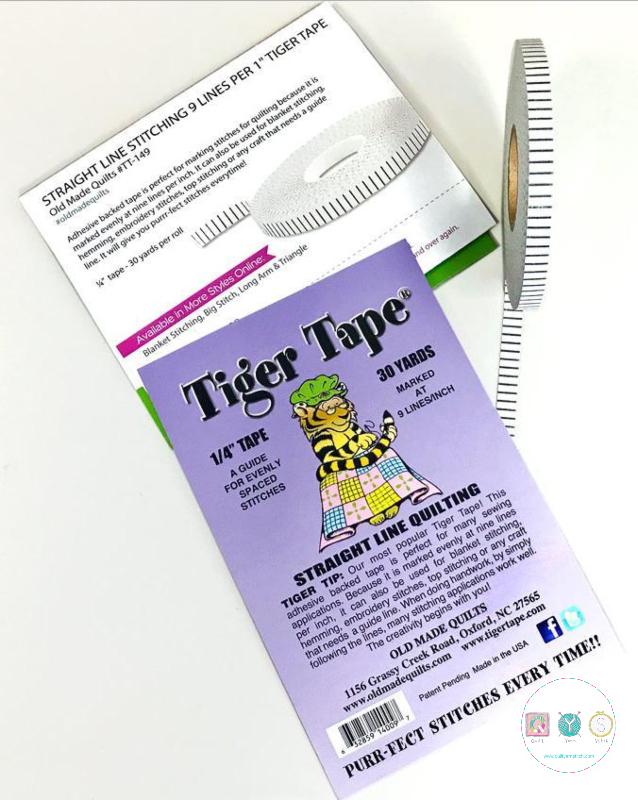 Tiger Tape - 1/4